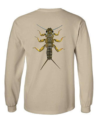 Brown Trout Stonefly/State Skin T-Shirts