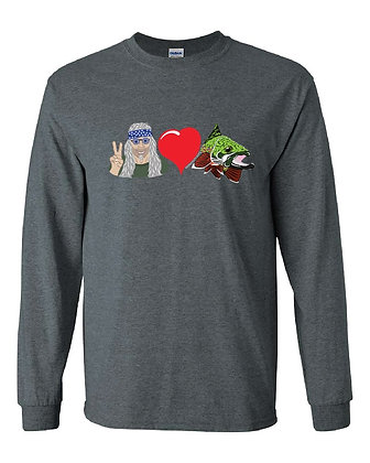 Peace & Love Brook Trout T-Shirt