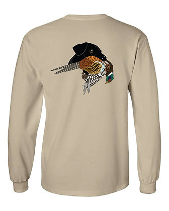 Iowa Black Lab/Pheasant T-Shirt
