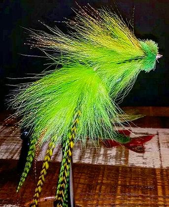 Musky Fly Single - Lime (Chartruese)