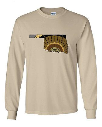 Oklahoma Turkey Pattern T-Shirt