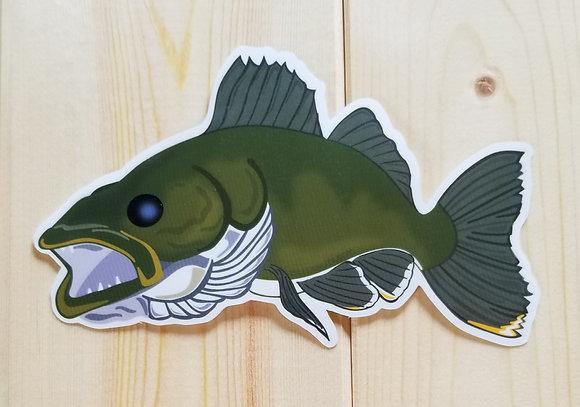 Walleye Sticker