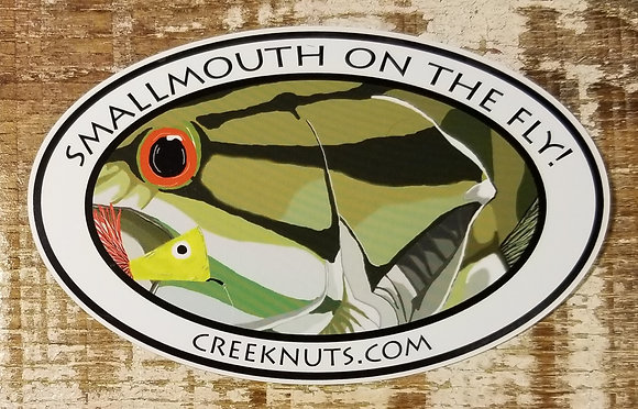 Smallmouth on the Fly! Sticker