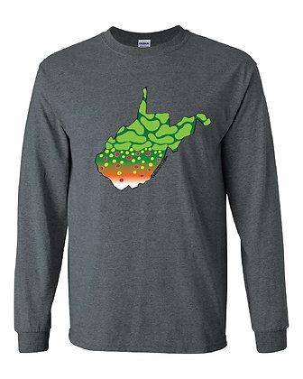 West Virginia Brook Trout Skin T-Shirt