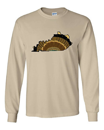 Kentucky Turkey Pattern T-Shirt
