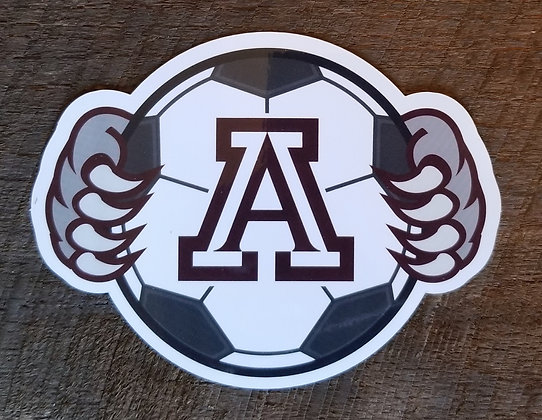 Ashland Soccer Decal