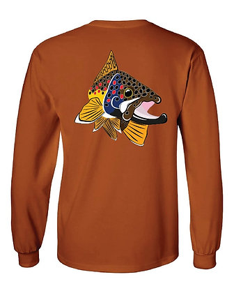 Maine Brown Trout Kype T-Shirt