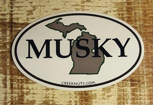 Michigan Classic Musky Oval