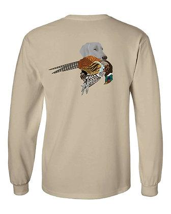 Michigan Weimaraner w/Pheasant T-Shirt