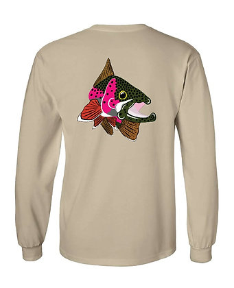 North Caroliona Rainbow Trout Kype T-Shirt