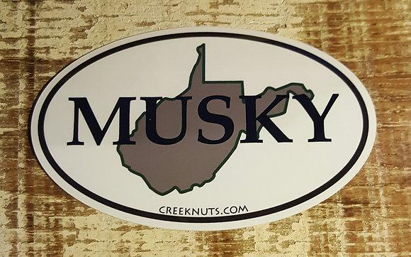 West Virginia Classic Musky Oval