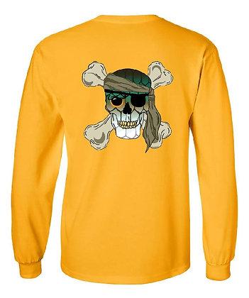 Tarpon Skull & Crossbones/State Skin T-Shirts