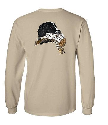 Black Springer Spaniel Grouse T-Shirts