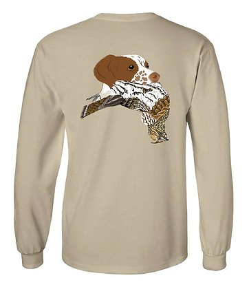 Brittany Spaniel Grouse T-Shirts