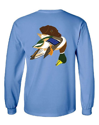 Arkansas Chocolate Lab/Mallard T-Shirt