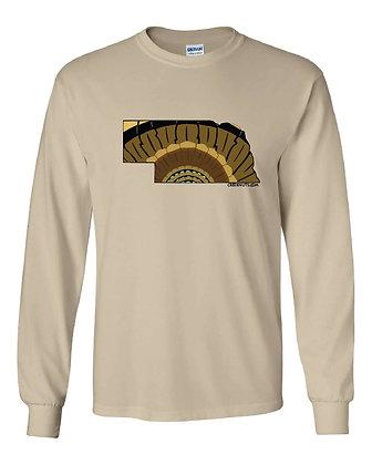 Nebraska Turkey Pattern T-Shirt