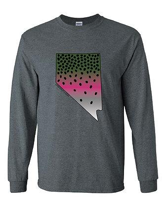 Nevada Rainbow Trout Skin T-Shirt