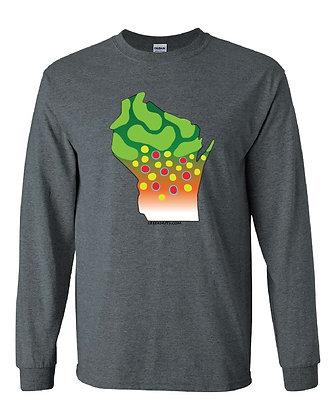 Wisconsin Brook Trout Skin T-Shirt