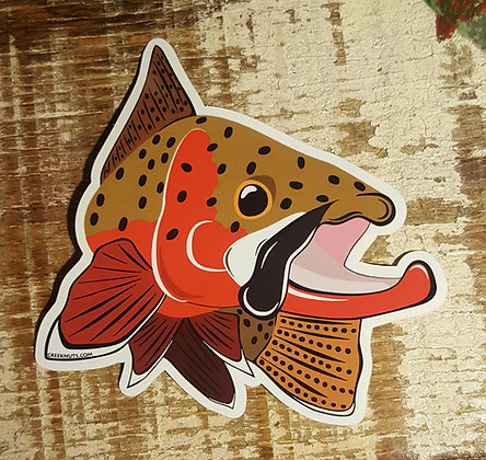 Cutthroat Trout Kype