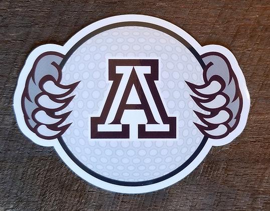 Ashland Golf Decal
