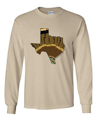 Texas Turkey Pattern T-Shirt
