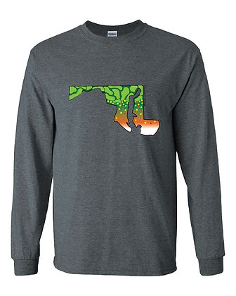 Maryland Brook Trout Skin T-Shirt