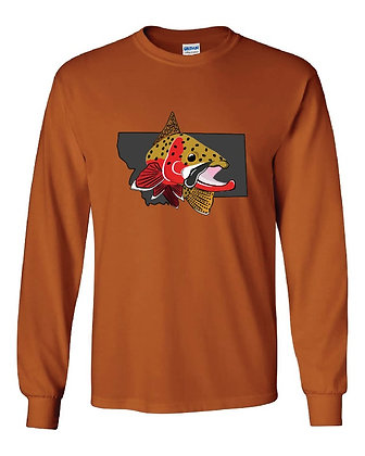 Cutthroat on Montana T-Shirts