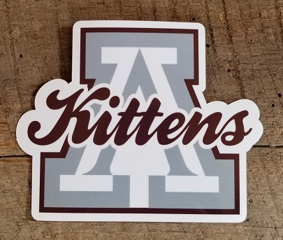 Ashland Kittens Decal