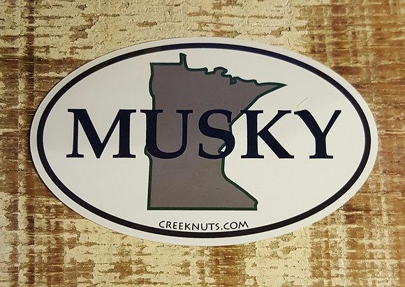 Minnesota Classic Musky Oval