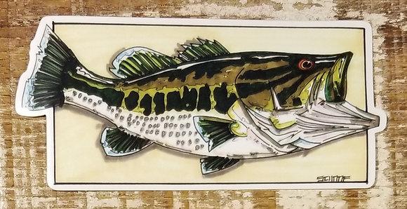 Largemouth Bass Designed byJosh Schaaf