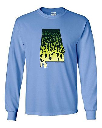 Crappie State Skin T-Shirts