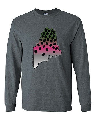 Maine Rainbow Trout Skin T-Shirt