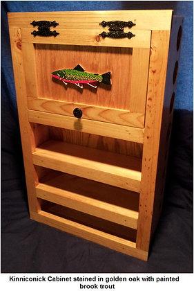 The Kinniconick Creek Fly Rod Cabinet