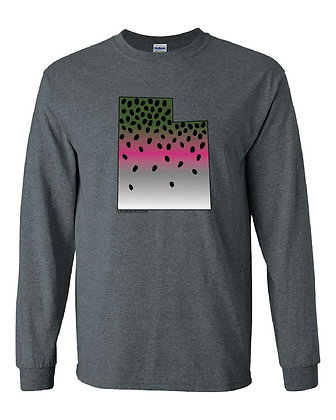Utah Rainbow Trout Skin T-Shirt