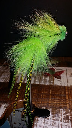 Musky Fly - Double - Lime