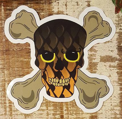 Carp Skull & Crossbones