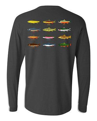 12 Trout LS T-Shirt