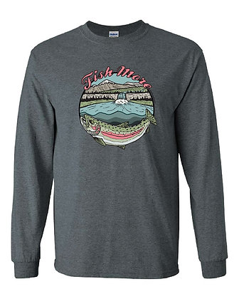 Rainbow Trout Fish More T-Shirt