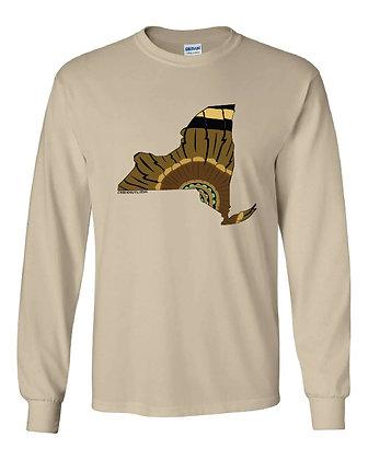 New York Turkey Pattern T-Shirt