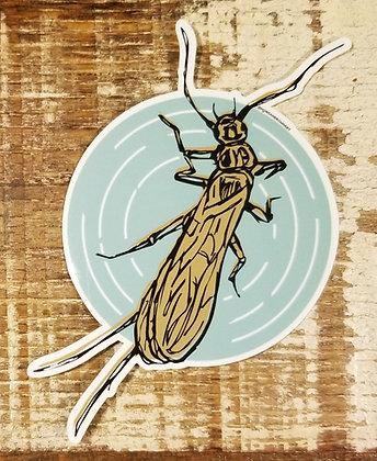 Stonefly Sticker - Morgan Brown