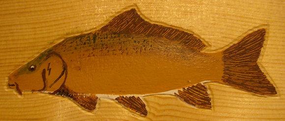 Hand-Painted Carp