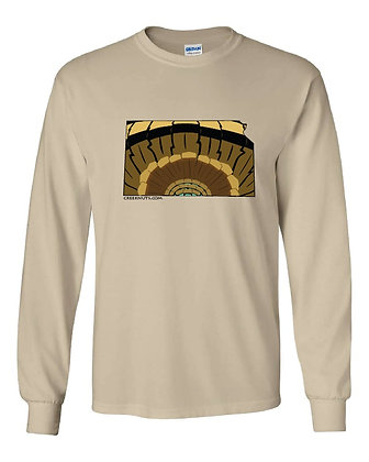 Kansas Turkey Pattern T-Shirt