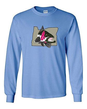 Steelhead on Oregon T-Shirt