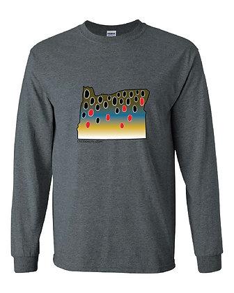 Oregon Brown Trout Skin T-Shirt
