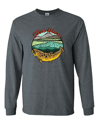 Brown Trout Fish More T-Shirt