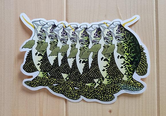Crappie Stringer Sticker