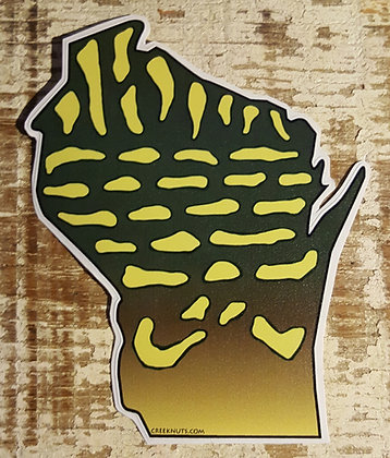 Pike Sticker - Wisconsin