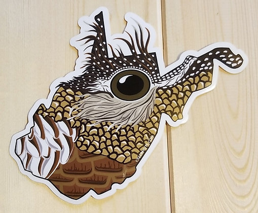 West Virginia Grouse Sticker