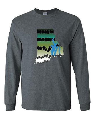 Rhode Island Striper Skin T-Shirt