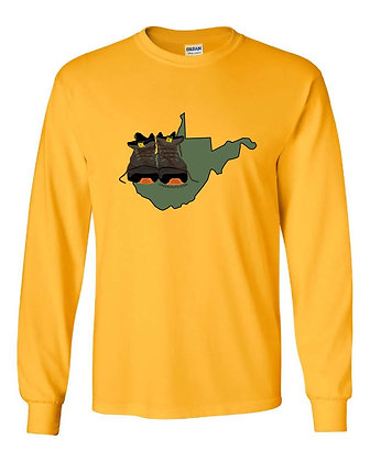 West Virginia/Hiking Boots T-Shirts